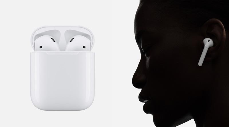 รู้จักกับ AirPods หูฟังไร้สาย สั่งงาน Siri ได้ ในราคา 6,900 บาท