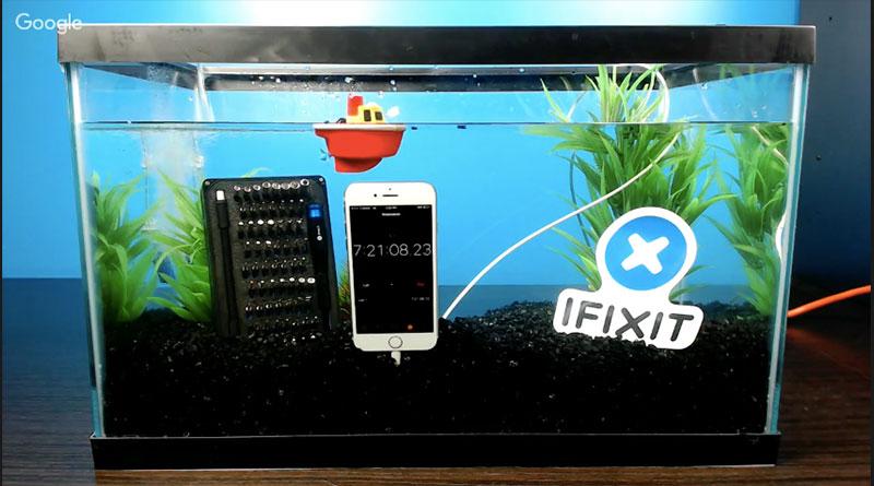 มีคนลองแล้ว iPhone 7 แช่น้ำได้นานมากว่า 7 ชั่วโมง