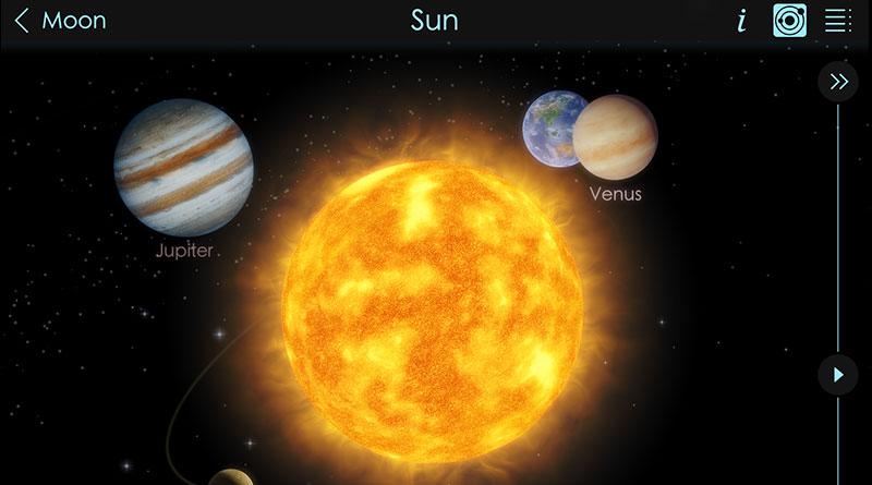 เรียนรู้ระบบสุริยะจักรวาล กราฟฟิกสวยงาม ด้วยแอพ Solar Walk 2 บน iPad