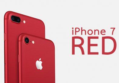 มาแล้ว iPhone 7 สีแดง 128GB ราคาเริ่ม 30,500 บาท